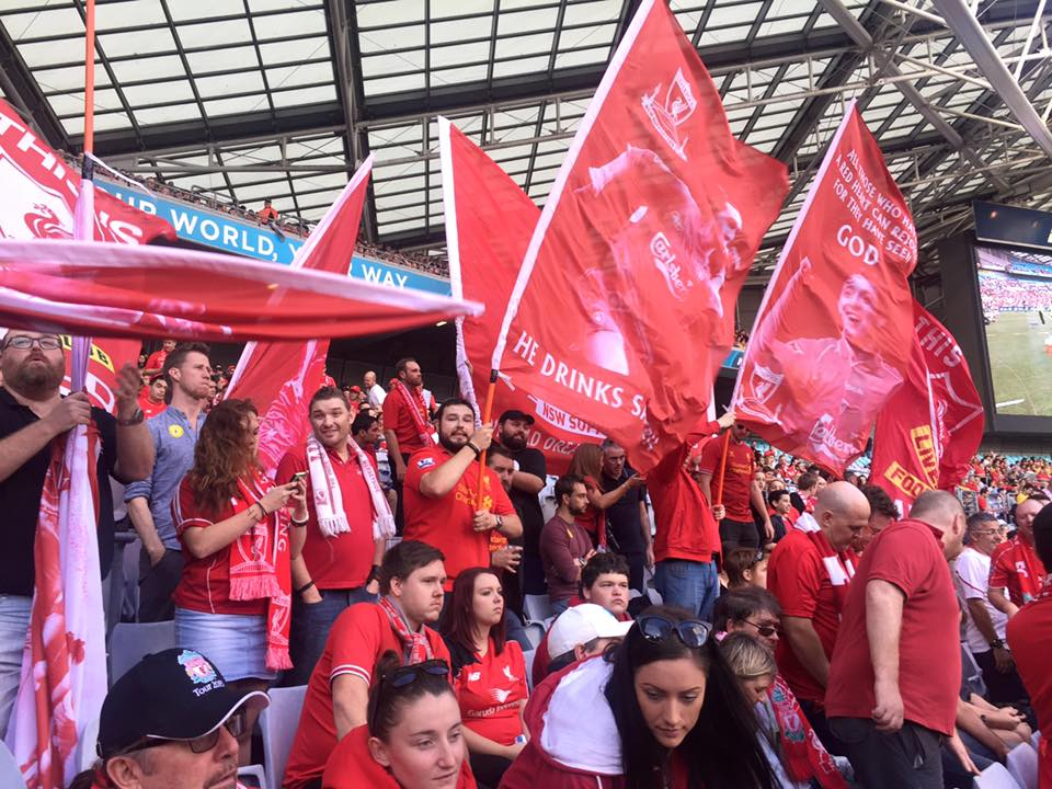 Register your flags and banners for LFC vs SFC