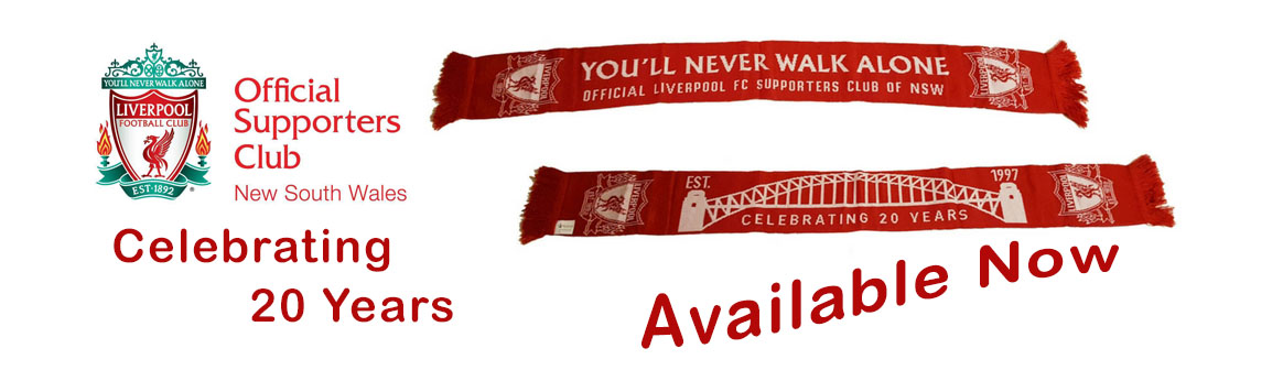 lfcnsw supporters club scarf available to buy