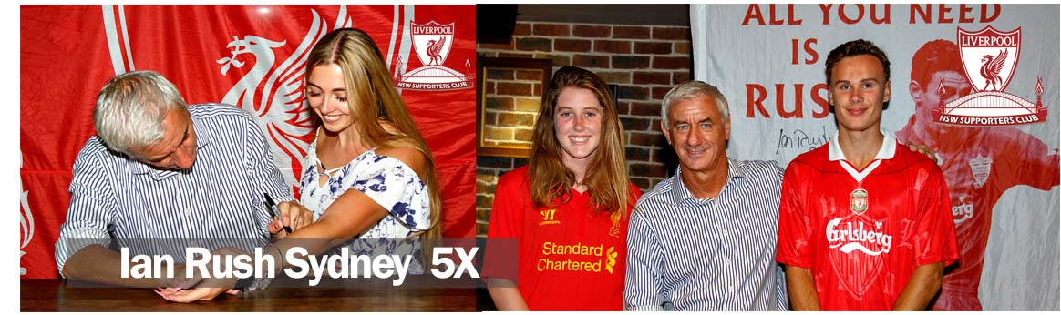 IAN RUSH 5x Sydney Cheers Bar Meet & Greet