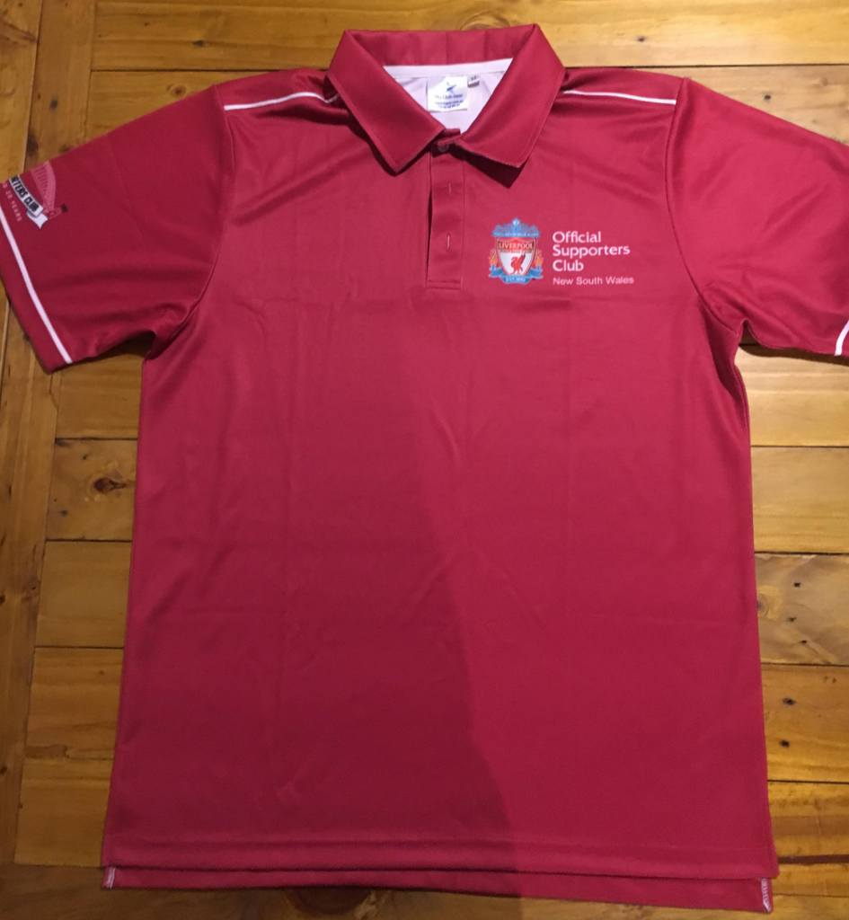 Lfcnsw Supporters 20th Anniversary Polo Shirt Official Club