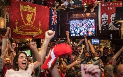 Champions League Semi-final 1st leg –Anzac Day 2018 –Liverpool 5 Roma 2