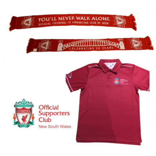 lfcnsw scarf and polo combo